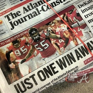 AJC Falcons Cover 1