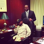 Jermaine Dupri Hits Up Atlanta City Hall & Mayor Kasim Reed For Special SoSo Def Announcement… [PHOTOS]