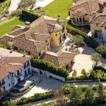Kanye Kim Kardashian Mansion-8