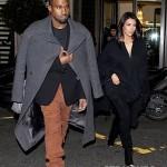Kanye Kim Kardashian in Paris 010813-2