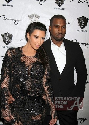 Kim Kardashian Kanye West New Years 2013-2