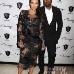 Kim Kardashian Kanye West New Years 2013-6