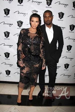 Kim Kardashian Kanye West New Years 2013-6