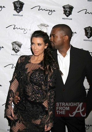 Kim Kardashian Kanye West New Years 2013-7