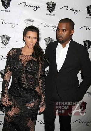 Kim Kardashian Kanye West New Years 2013-8