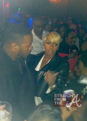 Nene Leakes at CAKE Strip Club