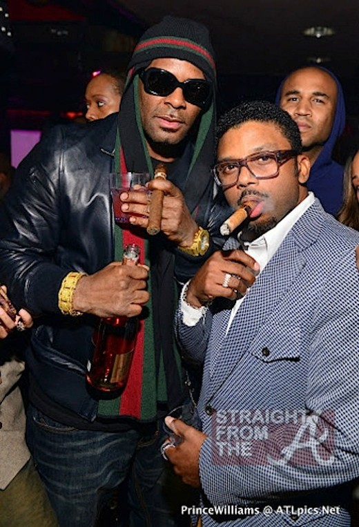 R Kelly and Carl Payne