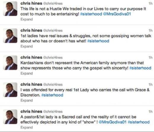 Hines Tweet