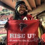 michelle atlien brown falcons playoffs 1