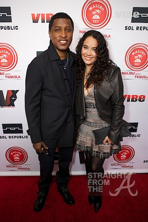 Babyface and wife Nicole