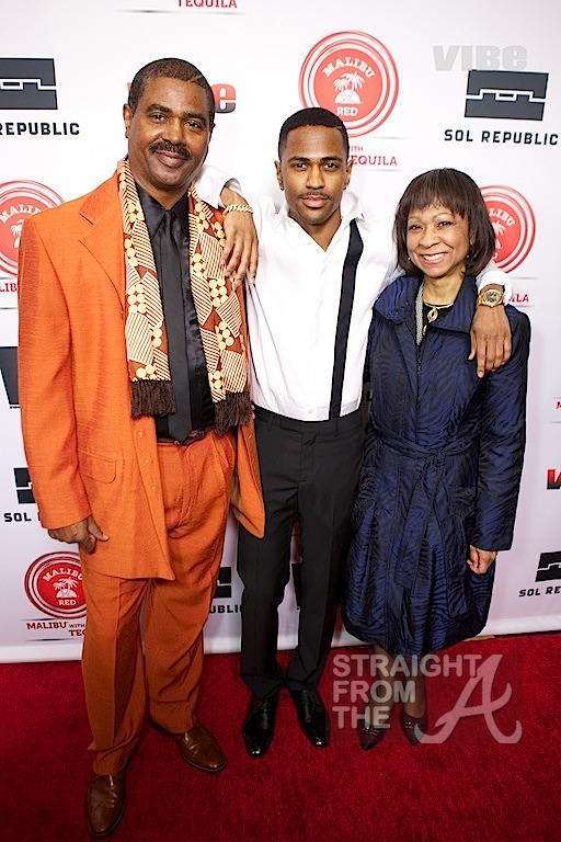 Big Sean and Parents