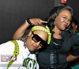 DaBrat and Michelle Brown