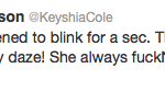 Keyshia Cole Tweet 2