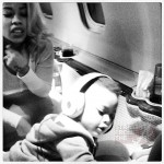 Keyshia Cole and Son DJ
