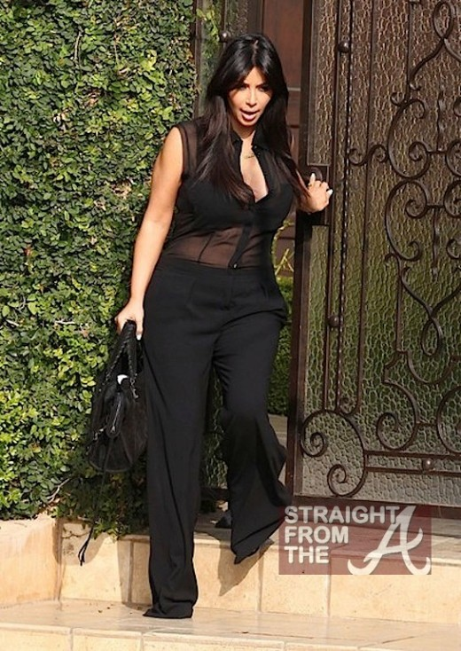 Kim Kardashian Maternity Wear 020713-8