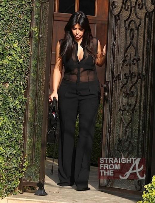 Kim Kardashian Maternity Wear 020713-9
