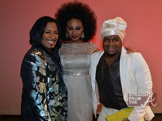 Master of Ceremony Gordon Robert Fuller, Mistress of Ceremony Supermodel Cynthia Bailey and Derek J 2