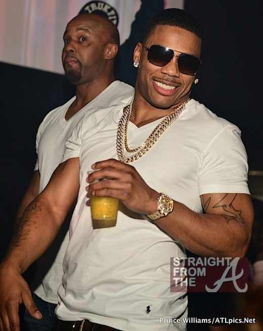 Nelly and New Girlfriend ATL SFTA-27