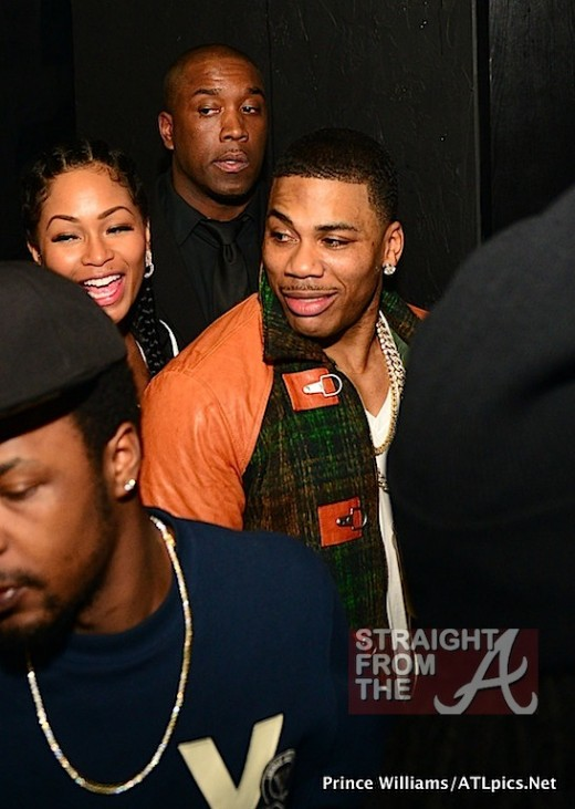 Nelly and New Girlfriend ATL SFTA-29