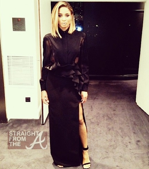 Ciara Givenchy Paris