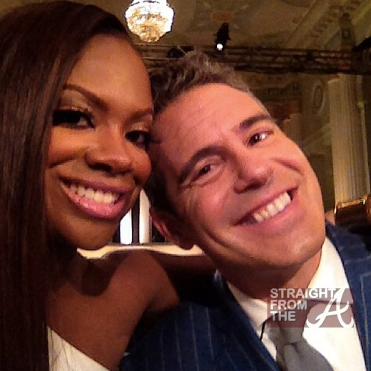 Kandi Burruss Andy Cohen RHOA Reunion 2013