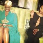 Nene Leakes Cynthia Bailey RHOA S5 Reunion 2013