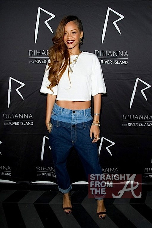 Rihanna RIver Island Launch 2
