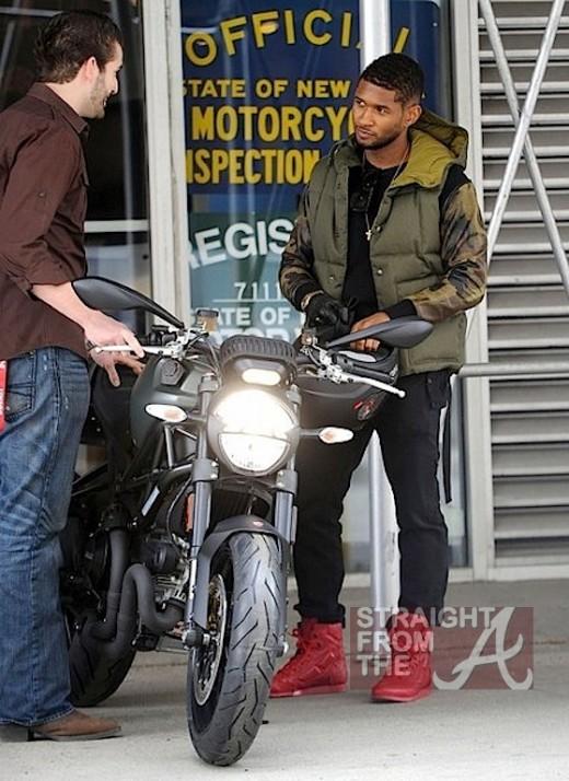Usher New Ducati NYC 030213 SFTA 2