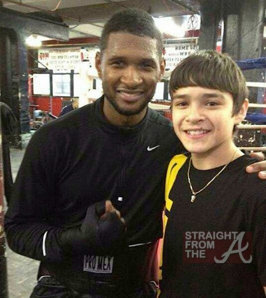 Usher Preps for Sugar Ray Role 3