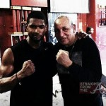 Training Day: Usher Preps For 'Sugar Ray' Role + Peep His Hot New Wheels… [PHOTOS]