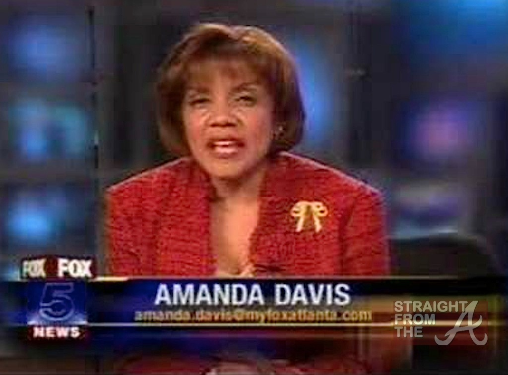 Amanda Davis Fox 5 Report - Straight From The A [SFTA