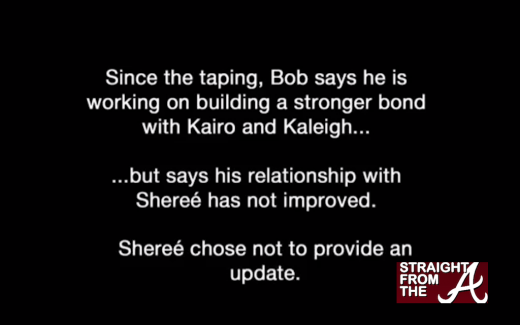 Bob Sheree Iyanla Update