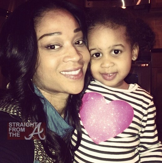 Mimi Faust and daughter Eva