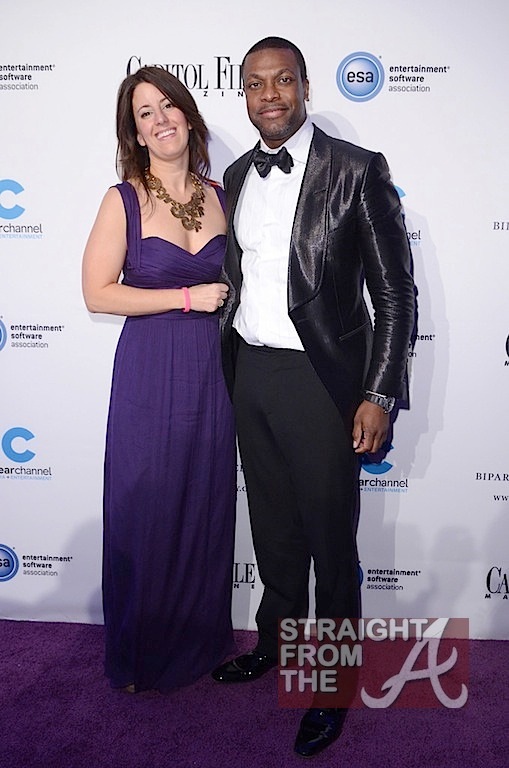 Sarah Schaffer (editor captial fil mag) and Chris Tucker