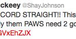 Shay tweet