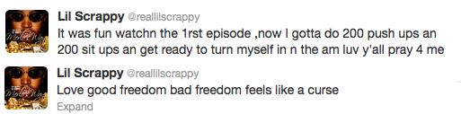Scrappy tweet