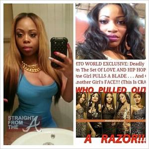 Shay Erica Dixon Fight StraightFromTheA