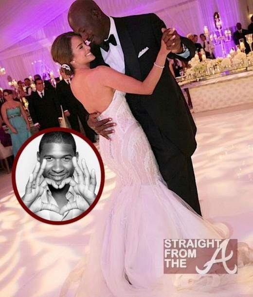 Usher Wedding: Usher Raymond Sings At Michael Jordan's Wedding… [PHOTOS