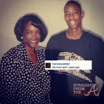 2Chainz and his mom StraightFromTheA