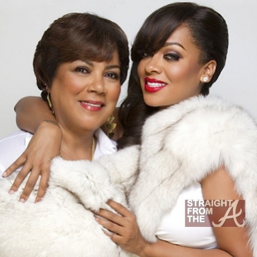 Carmen Surillo and daughter LaLa Anthony