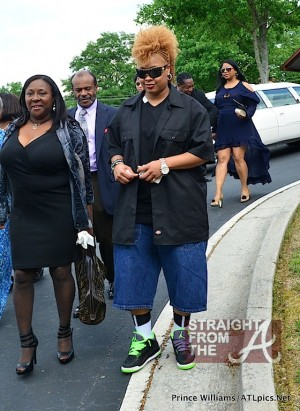 DaBrat 0 Chris Kelly Funeral 050912