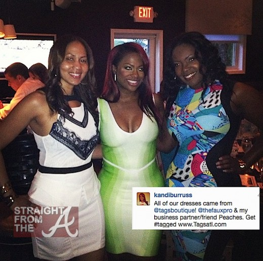 Kandi Burruss Birthday Dinner 051813-16