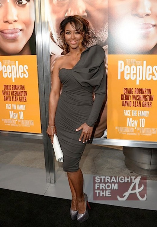 Kenya Moore The Peeples Screening 050813-4
