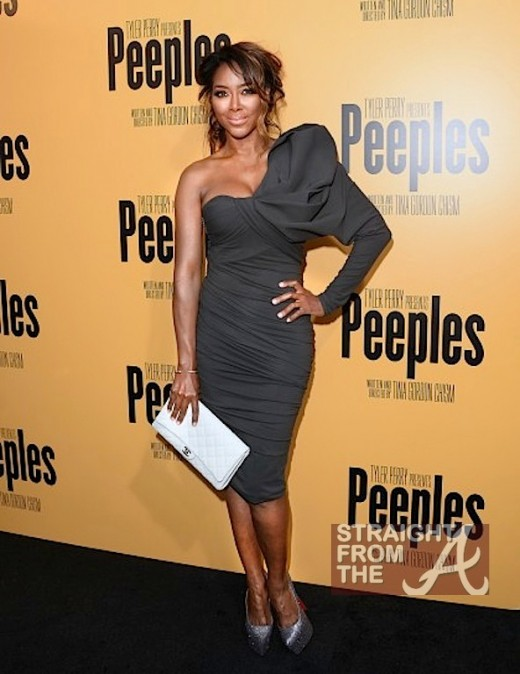 Kenya Moore The Peeples Screening 050813-6
