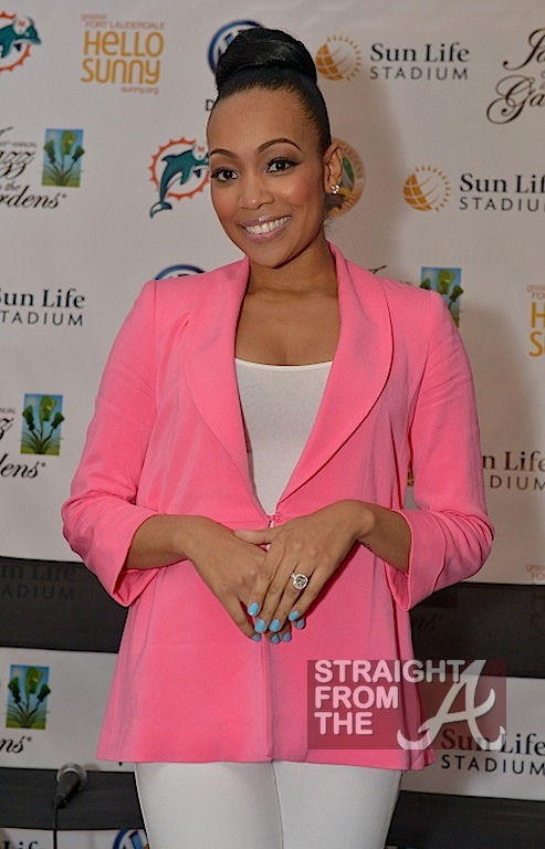 Monica Brown Pregnant March 2013
