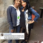 Monica Brown and Mom Mothers Day SFTA