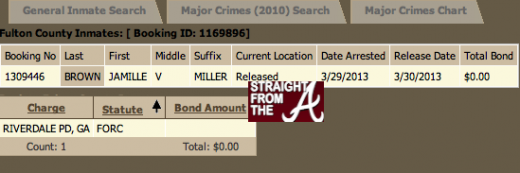 Jamille Miller Fulton County Arrest
