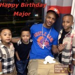 T.I. with son Major and Monicas sons romelo and rocko