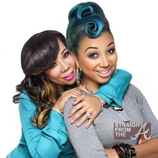 "Tameka ""Tiny"" Harris and daughter Zonnique"