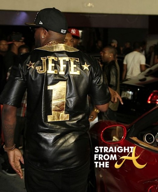 Young Jeezy's custom shirt